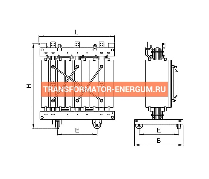 Трансформатор ТСЛ 160/6/0,4 фото чертежи завода производителя
