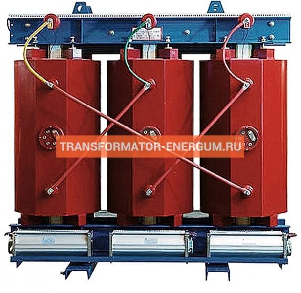 Трансформатор ТСЛ 1250/10/0,4 с литой изоляцией фото чертежи завода производителя
