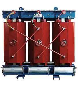 Трансформатор ТСЛ 2000/10/0,4 с литой изоляцией фото чертежи завода производителя