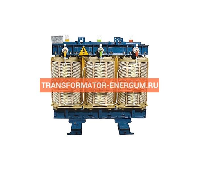 Трансформатор ТСЗН 1250/10/0,4 фото чертежи от завода производителя