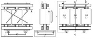 Трансформатор ТСГЛ 630/10/0,4 фото чертежи завода производителя