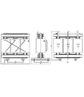 Трансформатор ТСГЛ 800/10/0,4 фото чертежи завода производителя