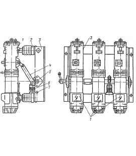 Выключатель масляный ВПМ -10 -20/630 У3 фото чертежи завода производителя