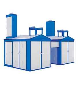 Подстанция 2КТП-ПВ 1600/10/0,4 (КВа) Проходная Воздушная фото чертежи завода производителя