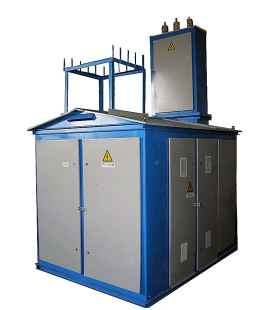 Подстанция КТПН 1000 10 0,4 КВа (Комплектная Наружная) фото чертежи завода производителя