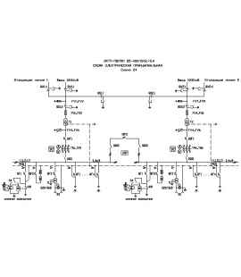 Подстанция 2КТП-ПВ 40/6/0,4 (КВа) Проходная Воздушная фото чертежи завода производителя