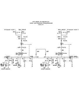 Подстанция 2КТП-ПВ 100/10/0,4 (КВа) Проходная Воздушная фото чертежи завода производителя