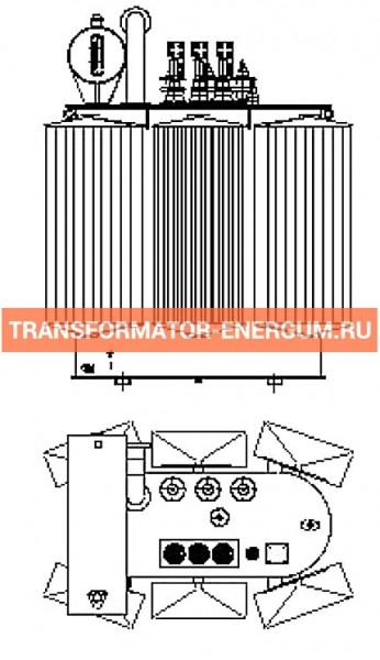 Трансформатор силовой ТР Р 1000 10 0,4 фото чертежи завода производителя