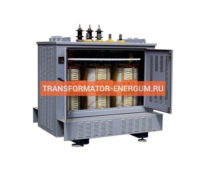 Трансформатор сухой ТСЗ 160/6/0,4 фото чертежи завода производителя