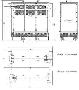 Трансформатор сухой ТСЗ 630/10/0,4 фото чертежи завода производителя
