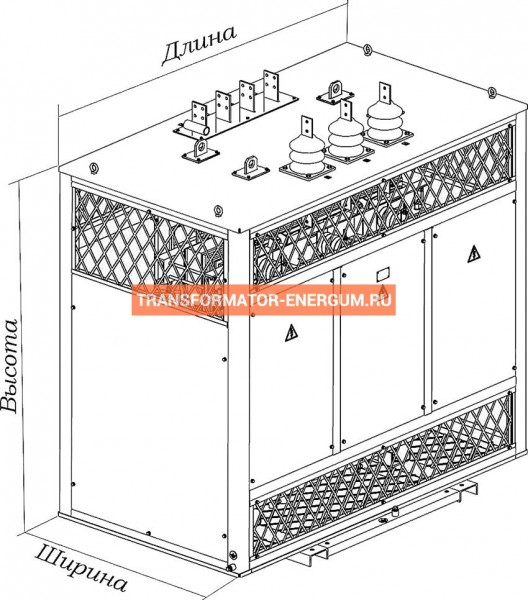 Трансформатор сухой ТСЗ 1250/10/0,4 фото чертежи завода производителя