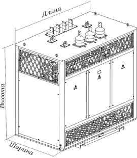 Трансформатор сухой ТСЗ 1250/6/0,4 фото чертежи завода производителя