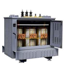 Трансформатор сухой ТСЗ 1600/10/0,4 фото чертежи завода производителя