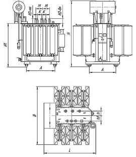 Трансформатор ТМ 4000 35 10 фото чертежи завода производителя