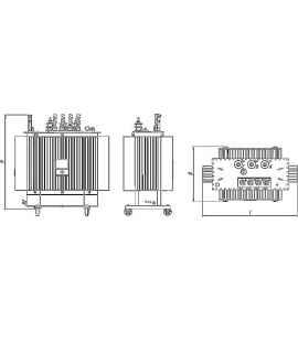 Трансформатор ТМГ 40 10 0,4 фото чертежи завода производителя