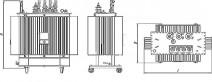 Трансформатор ТМГ 63 10 0,4 фото чертежи завода производителя