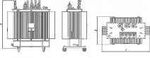 Трансформатор ТМГ 100 10 0,4 фото чертежи завода производителя