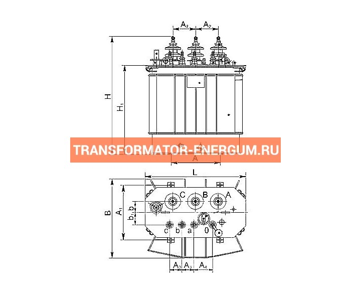 Трансформатор ТМГСУ 40 6 0,4 фото чертежи завода производителя