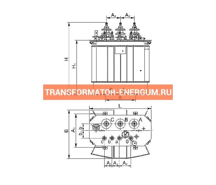 Трансформатор ТМГСУ 160 6 0,4 фото чертежи завода производителя