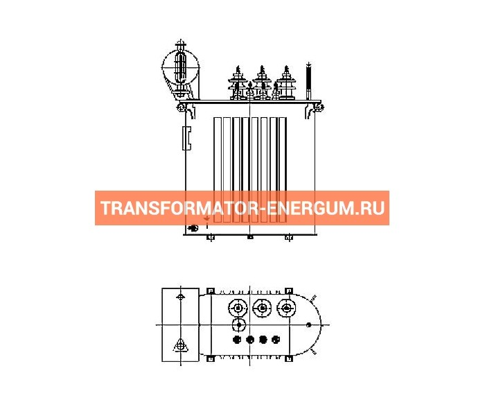 Трансформатор силовой ТР Р 63 6 0,4 фото чертежи завода производителя