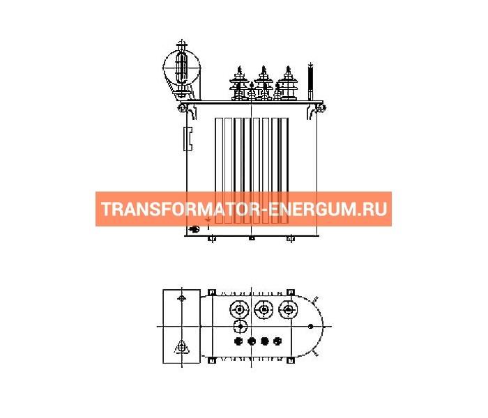 Трансформатор силовой ТР Р 63 20 0,4 фото чертежи завода производителя
