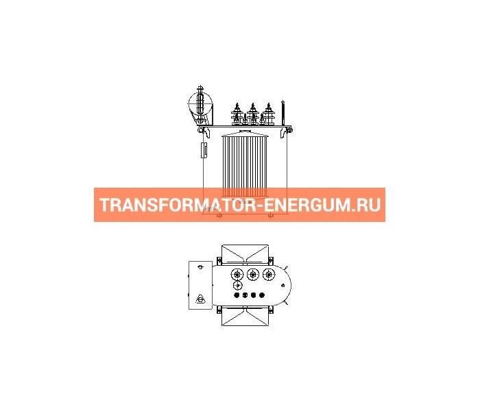 Трансформатор силовой ТР Р 160 35 0,4 фото чертежи завода производителя
