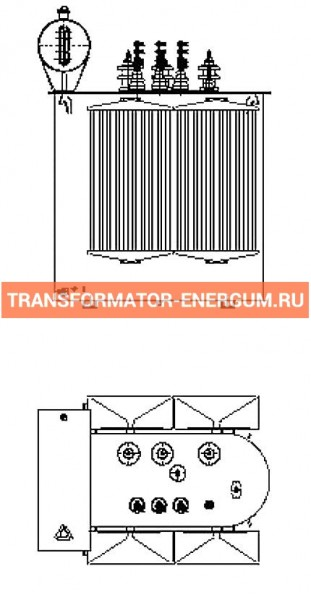 Трансформатор силовой ТР Р 400 6 0,4 фото чертежи завода производителя