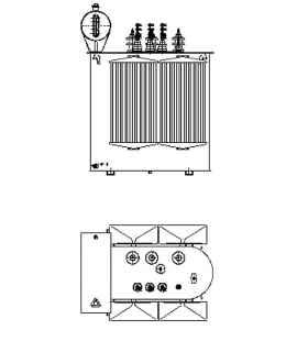 Трансформатор силовой ТР Р 630 10 0,4 фото чертежи завода производителя