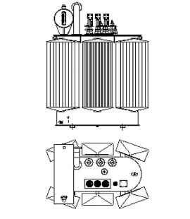Трансформатор силовой ТР Р 1250 10 0,4 фото чертежи завода производителя