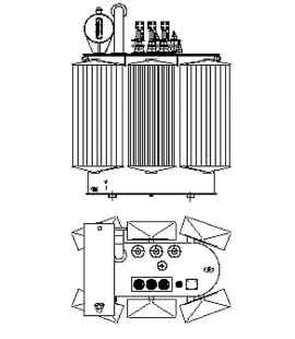 Трансформатор силовой ТР Р 1600 кВА фото чертежи завода производителя
