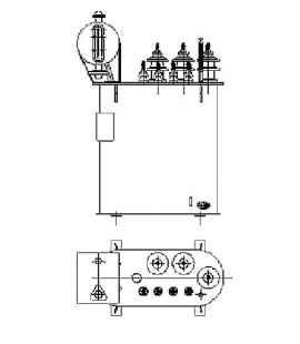 Трансформатор силовой ТР Р 40 10 0,4 фото чертежи завода производителя