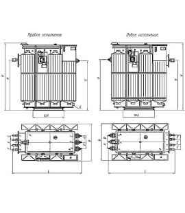 Трансформатор ТМЗ 630 10 0,4 фото чертежи завода производителя