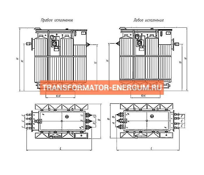 Трансформатор ТМЗ 1250 6 0,4 фото чертежи завода производителя