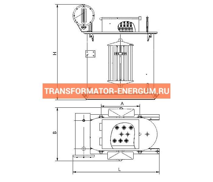 Трансформатор ТМПН 100 фото чертежи завода производителя