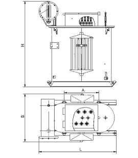 Трансформатор ТМПН 250 фото чертежи завода производителя