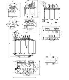 Трансформатор ТМЖ 160/27,5/0,4 фото чертежи завода производителя