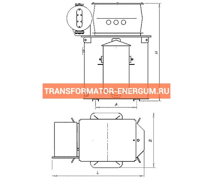 Трансформатор ТМЭ 100/6/0,4 фото чертежи завода производителя