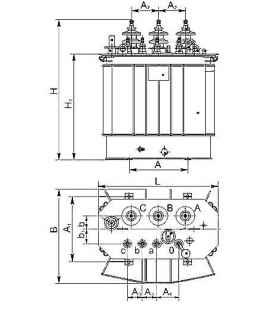 Трансформатор ТМГСУ 25 10 0,4 фото чертежи завода производителя