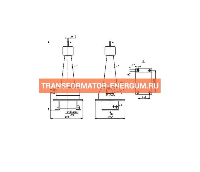 Трансформатор ЗОМ 1,25/27,5 фото чертежи завода производителя