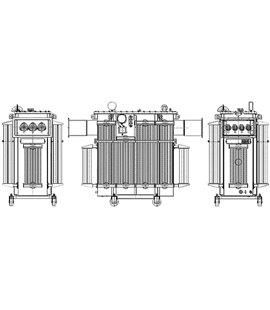 Трансформатор ТМГФ 1600 6 0,4 фото чертежи завода производителя