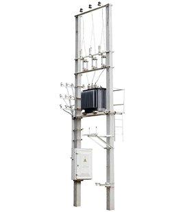 Подстанция столбовая СТП КТП ТП 63/10/0,4 фото чертежи завода производителя