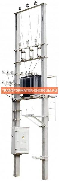 Столбовые Подстанции 400/10/0,4 (СТП КТП ТП) фото чертежи завода производителя