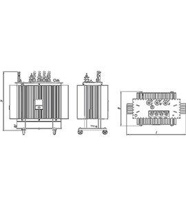 Трансформатор собственных нужд ТСН 100 10 0,4 фото чертежи завода производителя