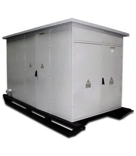 Подстанция (Передвижная Мобильная) КТП ТК 1600/10/0,4 КВа фото чертежи завода производителя