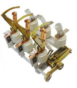 Выключатель нагрузки ВНА/ТЕ-Л(л)10/630-Зн в комплекте с приводами и вилками фото чертежи завода производителя