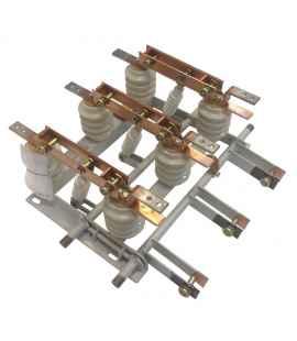 Разъединитель РВЗ-10/400-III в комплекте с приводами и вилками фото чертежи завода производителя