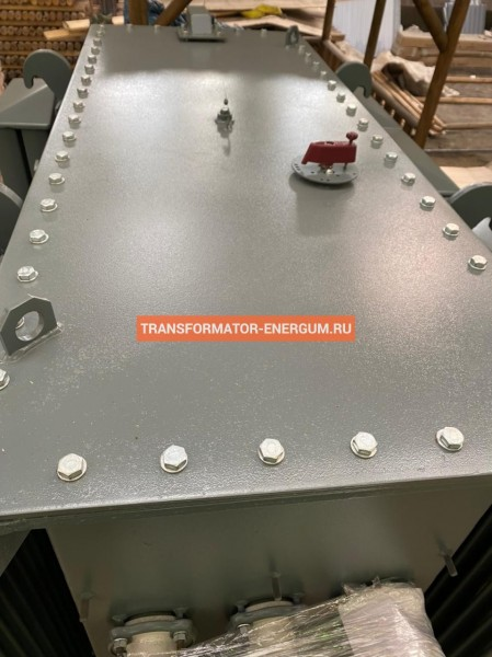 Отгрузка в Новосибирск: Трансформатор ТМГФ 1600/6/0,4 фото чертежи завода производителя