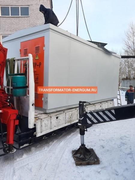 Отгрузка в Смоленск: трансформаторная подстанция КТП 400/10/0,4 фото чертежи завода производителя