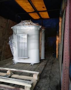 Отгрузка в Пензу: 2шт Трансформаторов ТМГ 100/6/0,4 фото чертежи завода производителя