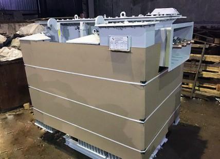 Отгрузка в Южно Сахалинск: Трансформатор ТМЗ 1000/10/0,4 фото чертежи завода производителя